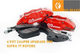 lexus is300 brake kit caliper upgrade front bbk is300 using supra tt 323mmx32mm rotor