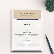 Interior Design Resume Template Word Instant Download Professional Resume Cv Template Design For
