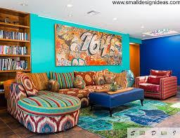 colorful living room furniture dmdmagazine home interior