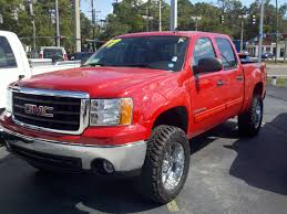 lifted gmc red 2007gmc 2007 gmc sierra 1500 crew cabsle pickup 4d 5 3 4 ft specs