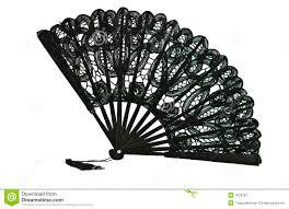 black lace fan black lace fan royalty free stock photography image 7623287