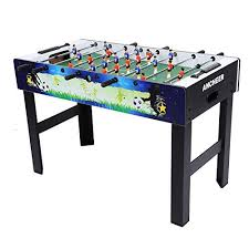 amazon com foosball table ancheer 48 foosball table professional soccer table arc https