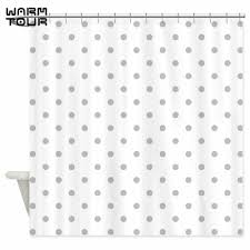 Black And White Polka Dot Curtains Online Get Cheap Gray Shower Curtains Aliexpress Com Alibaba Group