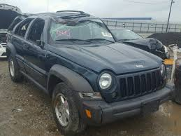 2006 green jeep liberty 2006 jeep liberty sport for sale oh columbus salvage cars