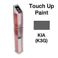 kia oem brush u0026pen touch up paint color code k3g gunmetal gray