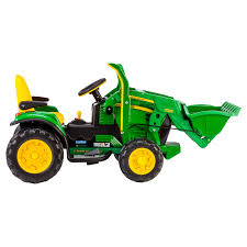 peg perego john deere ground loader tractor battery powered riding