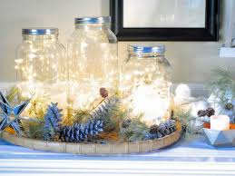 how to make mason jar lights with christmas lights mason jar christmas centerpiece 16 modern easy diy ideas