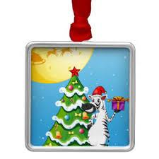 Zebra Christmas Tree Ornament by Cartoon Zebra Ornaments U0026 Keepsake Ornaments Zazzle
