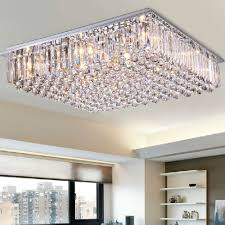 Crystal Sphere Chandelier Ideas Large Rectangular Chandelier Long Pendant Light Crystal