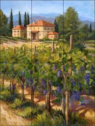 Ceramic Tile Murals For Kitchen Backsplash 39 Best Tile Murals For Kitchen U0026 Baths Images On Pinterest
