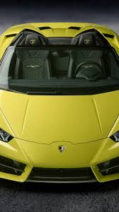 lamborghini front view download 1080x1920 lamborghini huracan yellow front view