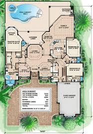 luxury plans luxury cottage house plans luxury villas plan de la tour