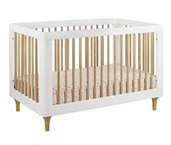 amazon com babyletto lolly 3 in 1 convertible crib with toddler