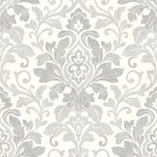 white and silver damask wallpaper and silver damask wallpaper