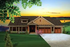 ranch craftsman house plans house plan 73140 at familyhomeplans com