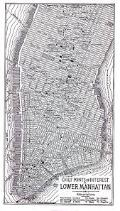 United States Printable Map by Online Map Of Manhattan Lower 1920 Historical