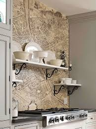 Kitchen Backsplash Wallpaper by Best 25 Wallpaper Borders For Kitchen Ideas On Pinterest