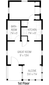 Cottage Style Floor Plans Cottage Style House Plan 2 Beds 1 50 Baths 777 Sqft 915 Luxihome