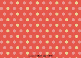girly hexagonal pattern vector download