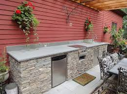 outdoor kitchen sink faucet easy design modular outdoor kitchen with stacked base and