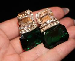green earrings estate green earrings most wanted accessories