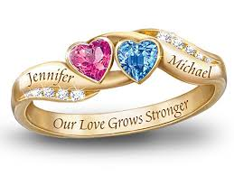 customized rings with names 17 best personalized birthstone ring images on free