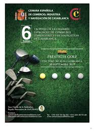 chambre de commerce espagnole en golf 6ème édition du trophée chambre espagnole de commerce de