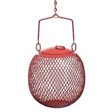 no no red seed ball wild bird feeder rsb00343 the home depot