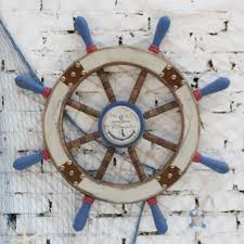 rustic nautical home decor home decoration rudder antique boat steering wheel rustic