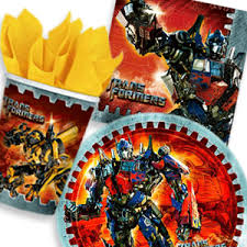 transformer party supplies boys birthday party themes boys birthday party ideas boys