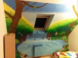 fresque murale chambre comment réaliser une fresque murale pour chambre d enfant