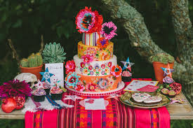 Dia de los Muertos styled wedding shoot Decorations