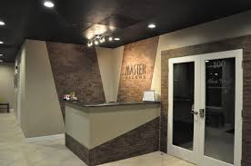 Desks Hair Salon Front Desk Tanning Salon Reception Desk Imd Love The Reclaimed Corrugated