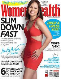 judy ann santos short hair judy ann santos women s health september 2013 cover starmometer