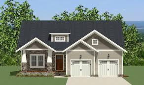 plan 46286la handsome one story craftsman house plan craftsman