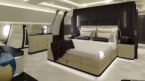 private jet with bedroom embraer lineage 1000 vs g650 acj319