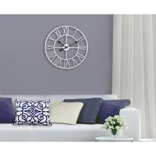 utopia alley wall clocks wall decor the home depot 24 in