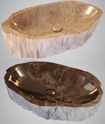 Bathroom Sink Stone Sink Stone 3d Model Cgtrader