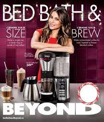 Bed Bath And Beyond Weekly Ad Bed Bath U0026 Beyond Canada Flyers