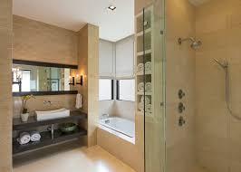 Bathroom Modern Vanities - portland hand towel holder powder room contemporary with vanity
