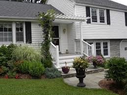 split level house with front porch image result for split level home front yard landscaping home