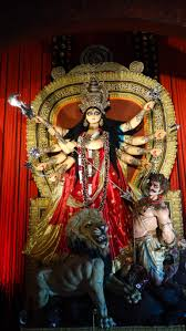 image of file durga devi images an image of maa durga on display during