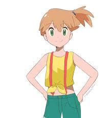 pokemon sun and moon anime alolan misty by chocomiru02 on deviantart