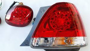 lexus gs430 led tail lights lampy led tył lexus gs300 gs430 mk2 jzs160 megablast speed parts