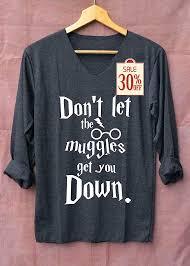 hogwarts alumni tank don t let the muggles get you shirt potter shirts black