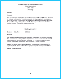 sample resume for teacher assistant sample resume for assistant teacher in preschools free resume there are several parts of assistant teacher resume to concern before you want to write it