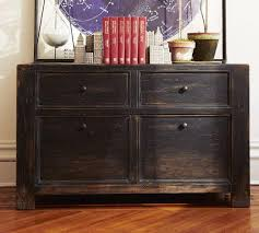 Wood Lateral Filing Cabinets Dawson Lateral File Cabinet Pottery Barn House Pinterest