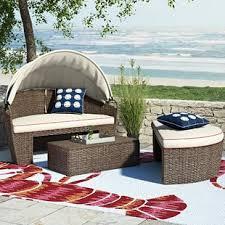 red patio sofas u0026 loveseats you u0027ll love wayfair