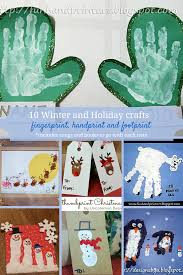 Kids Handprint Crafts Winter And Christmas Themed Crafts For Kids Handprint Fingerprint