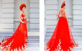 may ao cuoi may áo cưới may áo dài cưới trang phục cưới quận gò vấp